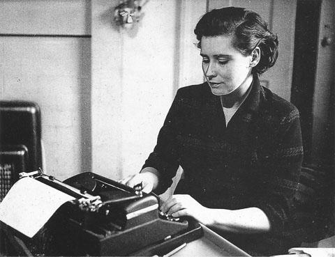 Doris Lessing writing