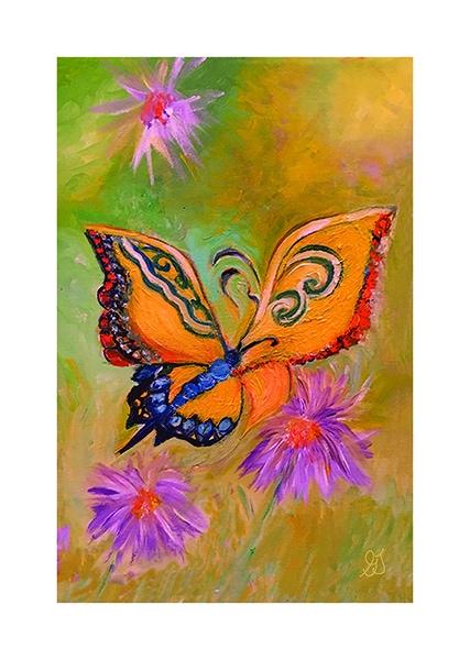 Butterfly print by Greer Jonas