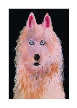 Dog print by Greer Jonas