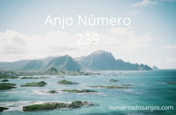 Significado do anjo número 239 – Número do anjo 239