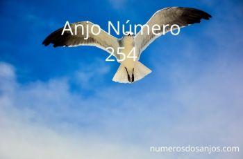 Anjo número 254 – Significado do anjo número 254