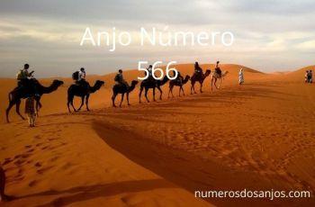 Anjo Número 566 – Significado do anjo número 566