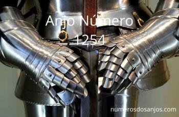 Anjo Número 1254 – Significado do anjo número 1254