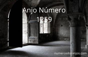 Anjo Número 1259 – Significado do anjo número 1259