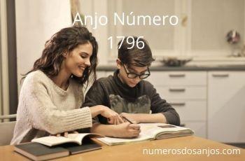 Número do anjo 1796: Trabalhe para levar sua vida a alturas maiores