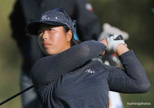 10 October 2008: Shanshan Feng during the Longs Drugs Challenge event on the LPGA tour at Blackhawk, California.