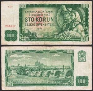 CHECOSLOVÁQUIA .n91y (CZECHOSLOVAKIA) - 100 KORUN (1961) BELA…Esc. +++++ VENDIDA +++++ 1