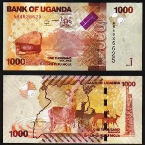 UGANDA .n49a - 1.000 SHILLINGS (2010) NOVA