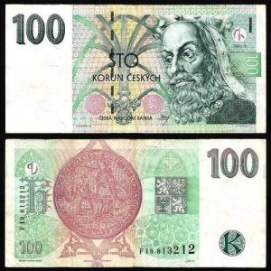REP. CHECA .n18 (CZECH REPUBLIC) - 100 KORUN (1997) CIRC … Esc. +++++ VENDIDA +++++