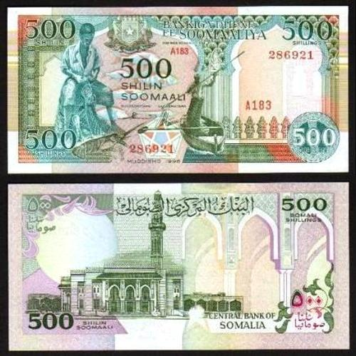 SOMÁLIA .n36 - 500 SHILIN (1996) NOVA