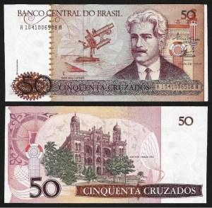 BRASIL .n210a (BRAZIL) - 50 CRUZADOS (1986) NOVA 1