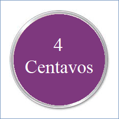 c. 4 CENTAVOS