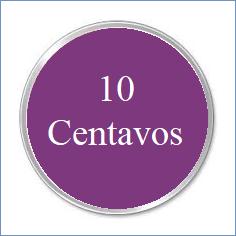 e. 10 CENTAVOS