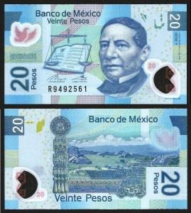 MÉXICO .n122 - 20 Pesos (2016) NOVA