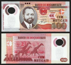 MOÇAMBIQUE .n151 (MOZAMBIQUE) - 100 METICAIS 'Samora Machel' (2011) NOVA