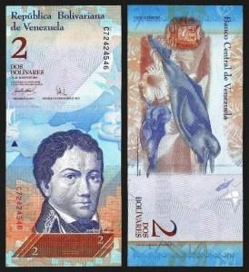 VENEZUELA .n88a - 2 Bolívares (20.03.2007) NOVA