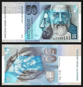 ESLOVÁQUIA .n21d (SLOVAKIA) - 50 KORUN (2002) NOVA
