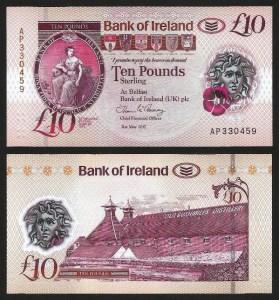 IRLANDA DO NORTE .n91 (NORTHERN IRELAND) - 10 LIBRAS (31.05.2017) NOVA