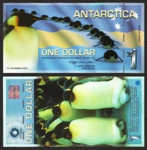 ANTÁRCTICA .n03d - 1 DOLLAR (2011) NOVA 1