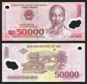VIETNAM .n121 (VIET NAM) - 50.000 DONG (2017) NOVA