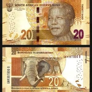ÁFRICA DO SUL .n139a (SOUTH AFRICA) - 20 RAND 'Nelson Mandela' (2013/16) NOVA