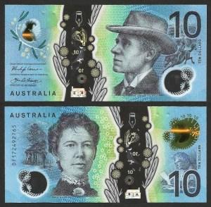 AUSTRÁLIA .n63 - 10 DOLLARS (2017) NOVA
