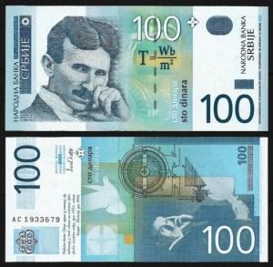 SÉRVIA .n41a (SERBIA) - 100 DINARA (2003) NOVA… Dif.