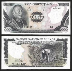 LAOS .n18 (LAO) - 1.000 KIP (1975) NOVA… Rara