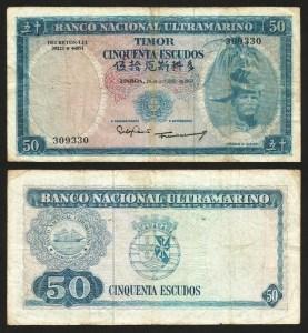 TIMOR (13)2 - 50 ESCUDOS 'Régulo D. Aleixo' (1967) CIRC… Esc.