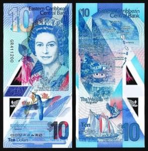 ESTADOS DAS CARAÍBAS DO LESTE .n56 (EAST CARIBBEAN STATES) - 10 DOLLARS (2019) NOVA