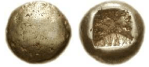 Ionia – zecca incerta 650 aC EL Trite