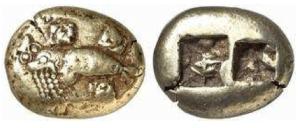Ionia - Phokaia EL Stater 620 – 600aC