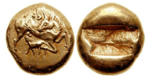 Thraco – Macedonian – zecca incerta – 500-480 aC EL Statere