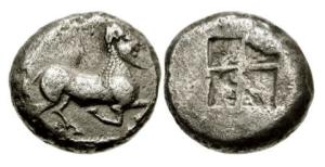 Thracia – zecca incerta – AG stater 530-480 aC