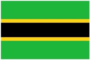 Bandiera del Tanganyika indipendente