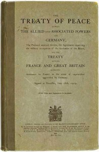 Testo del Trattato di Versailles