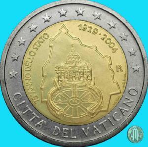 2004 – 75° anno dell'istituzione dello Stato (fonte: Lamoneta.it).
