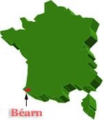 Figura 1: il Bearn nella Francia.