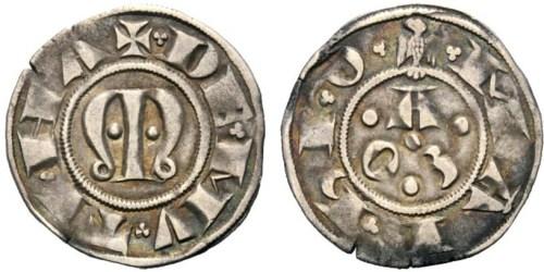 Figura 6: Zecca di Modena Azzo VIII d'Este (1293--1306) Grosso Prov.~Asta Ranieri 6, 27 aprile 2014, lotto 618.