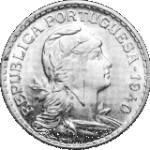 moeda de 1 escudo no estado bela
