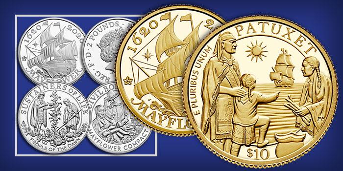 Representação da série emitida, com anverso e reverso que ilustra essa análise econômica