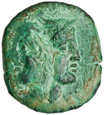 Obverse of RRC 348/6. 2012.34.10