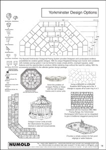 Numold - Moulds for Concrete Products - ABS Price List Page 18 - Yorkminster Octagon