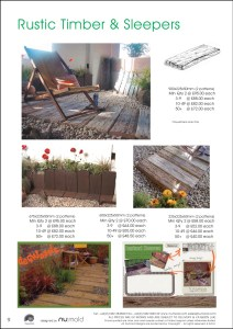 Numold - Moulds for Concrete Products - PU Price List Page 9 - Rustic Timber & Sleepers