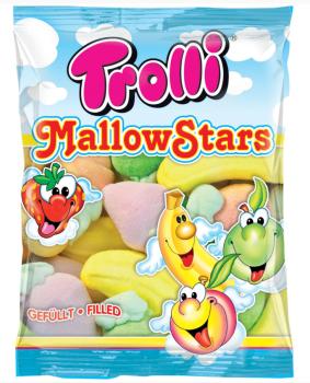 Auch Trolli versucht sich in Marshmallows: MallowStars