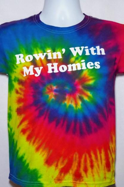 Rowin With My Homies Youth Tee