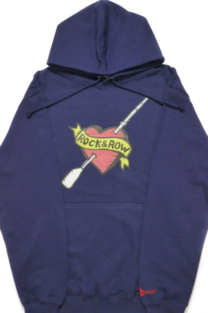Rock & Row 8.3oz 80/20 blend pullover hoodie