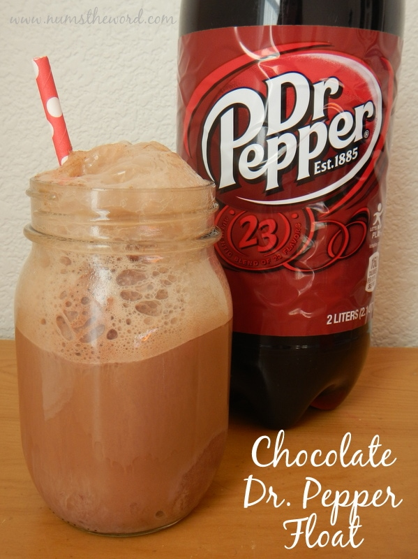 Chocolate Dr. Pepper Float