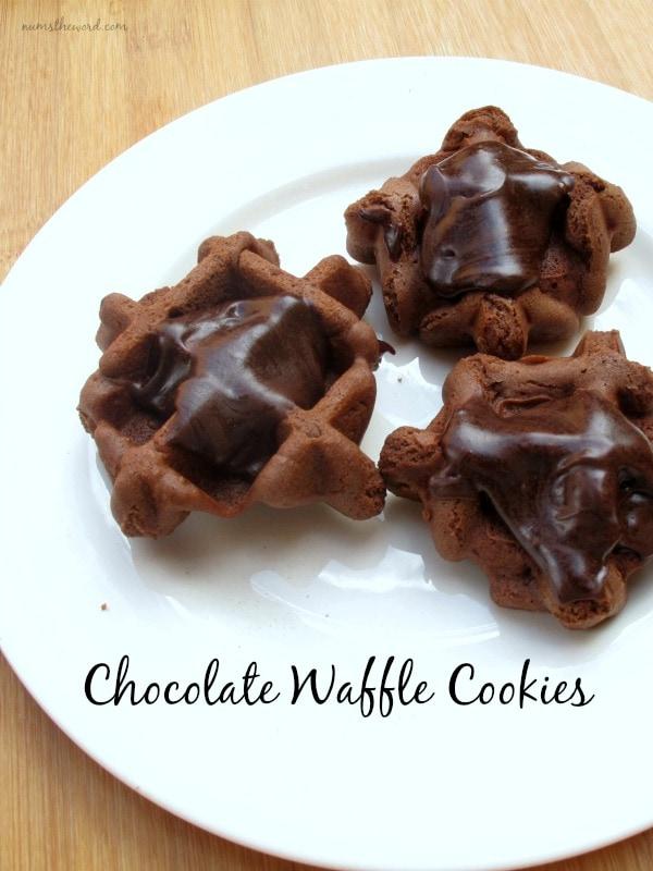 Chocolate Waffle Cookies