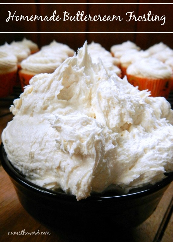 Buttercream Frosting Recipe Num S The Word